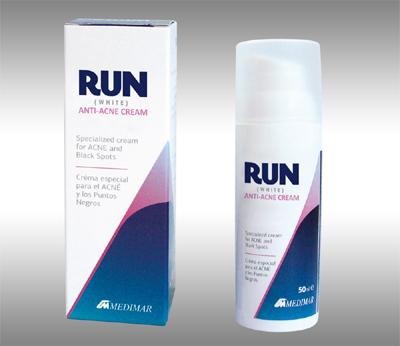 Αλλάξαμε ονομασία και συσκευασία της White Cream σε RUN ANTI-ACNE CREAM