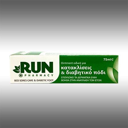 RUN για κατακλίσεις και διαβητικά έλκη